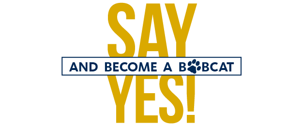 Say Yes! and become a Bobcat
